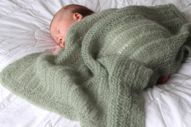 Mossy Baby Blanket